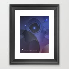 Close Encounter of the Fifth Kind - Communication Framed Art Print