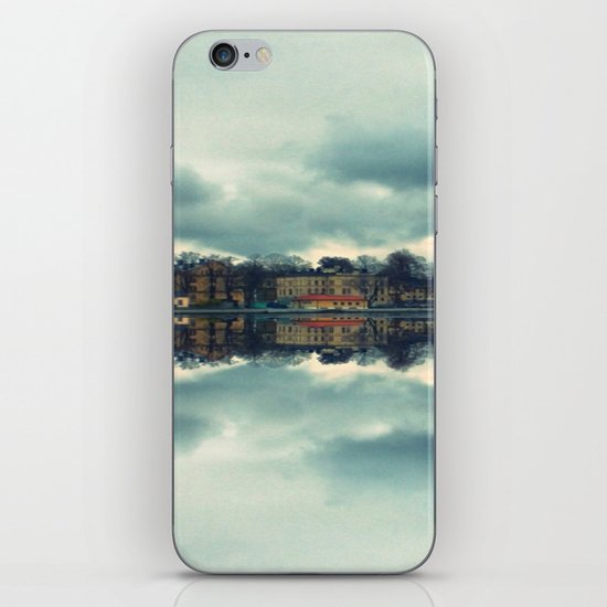 Stockholm upside-down iPhone & iPod Skin