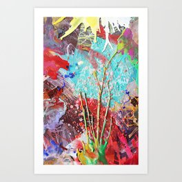 Grow with What You Got Art Print