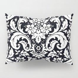 Damask Paisley Black and White Paisley Pattern Vintage Pillow Sham