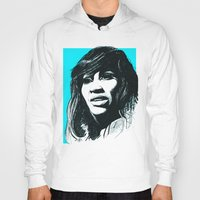 tina fey Hoodies featuring Tina Turner by ChrisGreavesCreative
