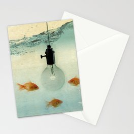 Fishing for ideas Stationery Cards