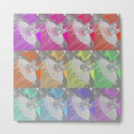 Colourful takeaway Metal Print
