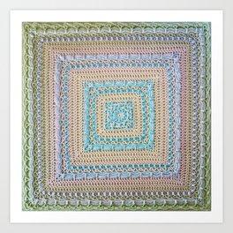 Timeless Crochet Art Print