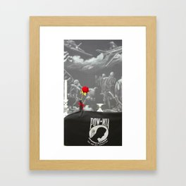 pow/mia Framed Art Print