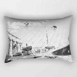 Pigeon Heaven Rectangular Pillow