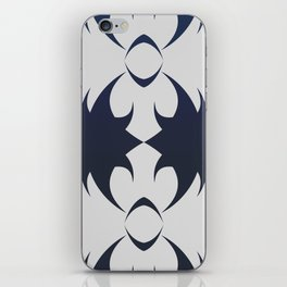 Future Abstract Alien Symbol Techie iPhone Skin