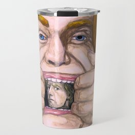 """Holy Schnikes!"" by Cap Blackard Travel Mug"