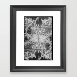 Ornaments (35mm Double Exposure) Framed Art Print