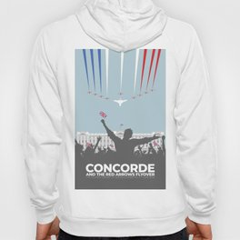 Concorde And The Red Arrows Flyover Hoody