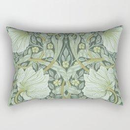 William Morris, Art nouveau pattern, beautiful art work, fabric pattern, belle époque,victorian,flor Rectangular Pillow