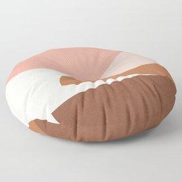 Abstract Stack II Floor Pillow