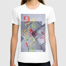 Denim collage T-shirt