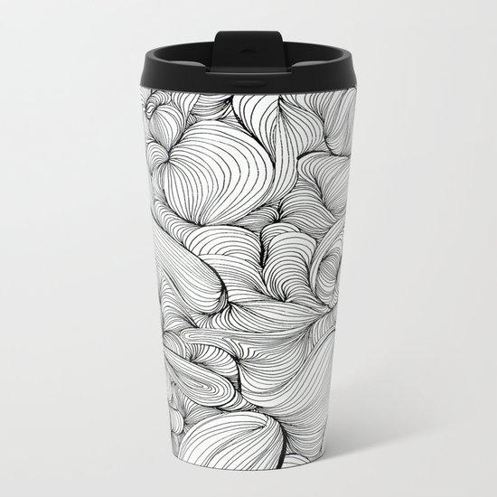 Fabric Metal Travel Mug