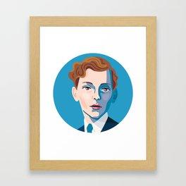 Queer Portrait - Stephen Tennant Framed Art Print