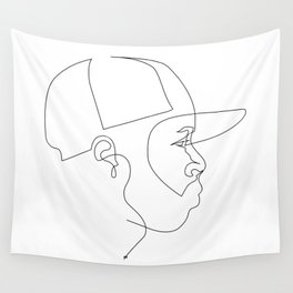 One Line For Dilla Wall Tapestry