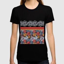 Poppy Field Pattern T-shirt
