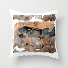 MAYDAY Throw Pillow