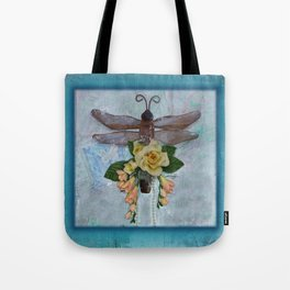 Dragonfly Love by Kathy Morton Stanion Tote Bag