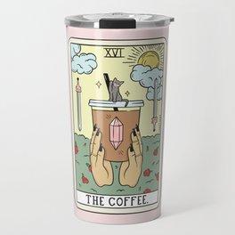 COFFEE READING UPDATED (LIGHT) Travel Mug