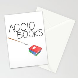 ACCIO BOOKS Stationery Cards