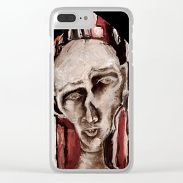 Nosferatu and the Technicolor Ethics Codes Clear iPhone Case