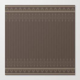 Arrows (Gray) Canvas Print