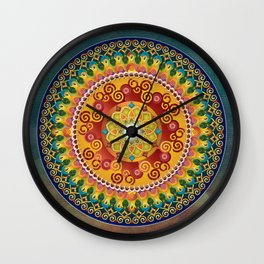 Mandala Epiphaneia Wall Clock