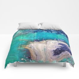 Glass Spill Comforters