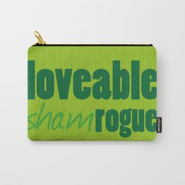 Loveable Shamrogue Carry-All Pouch