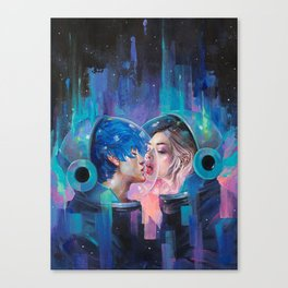 Spherical Love in the Void Canvas Print