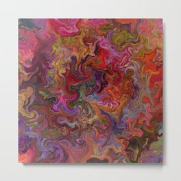 Psychedelic soup Metal Print