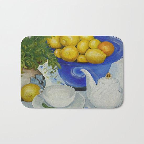 Lemon Tea Bath Mat