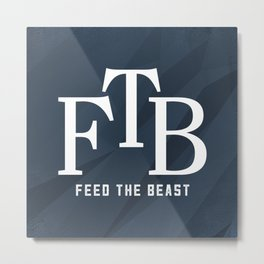 FTB Logo Metal Print