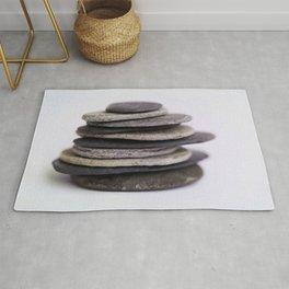 A Meditative Image of Stones Rug