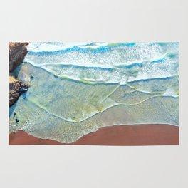 Black Sand Beach [Piha - New Zealand] Rug