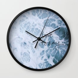 LIVE TODAY Wall Clock