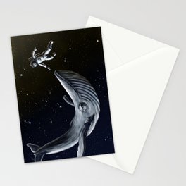 Orbital Whale #2 Stationery Cards