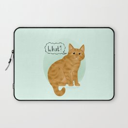 What's New Kitty Cat Laptop Sleeve