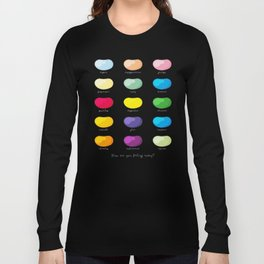 Every emotion beans Long Sleeve T-shirt
