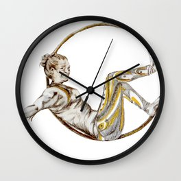 Lazy on lyra Wall Clock