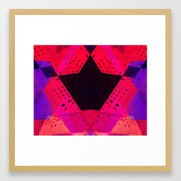 Remote Control (Purple/Pink Version)  Framed Art Print