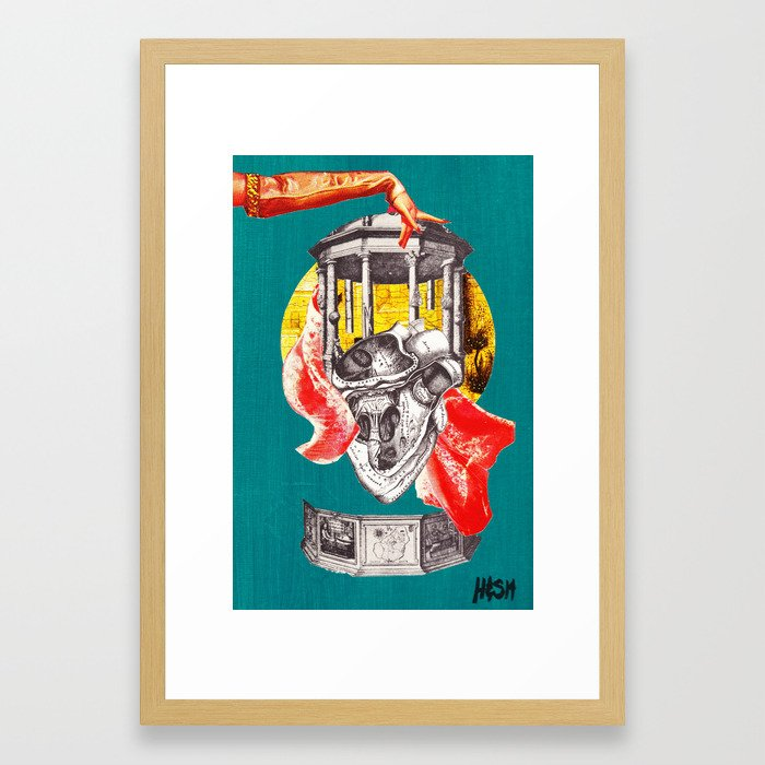 God and the State: Fig 3 - Hail Caesar Framed Art Print