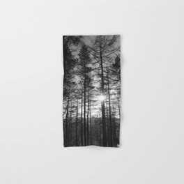 Winter Pine Forest 1 Hand & Bath Towel