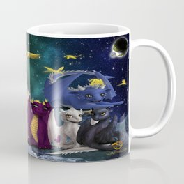 Dragonlings Space Party Coffee Mug