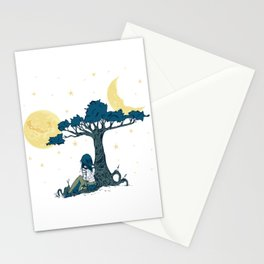 Wonder Girl Fantasy Art Stationery Cards