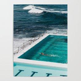 Bondi Icebergs Club I art print Poster