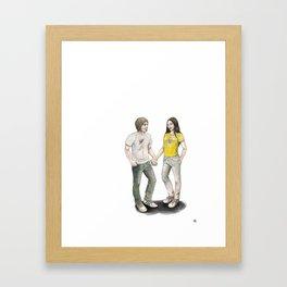 Yoon and Ash Framed Art Print