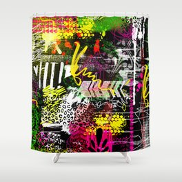 Everything in my heart Shower Curtain
