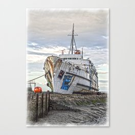 The Duke in HDR Canvas Print